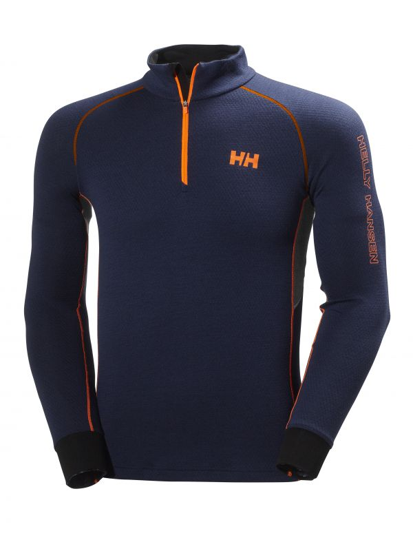 HH WARM FLOW HIGH NECK 1/2 ZIP